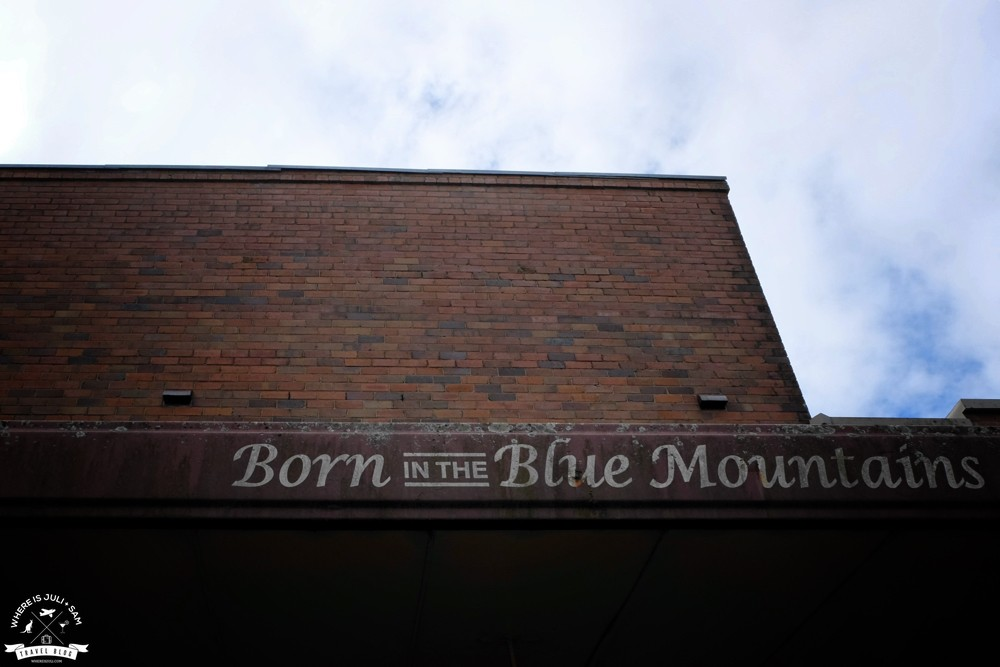 Born in the Blue Mountains